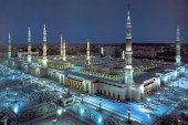 An architectural marvel in Madina