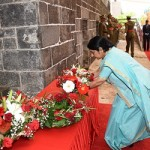 Monument for 'Girmityas' of Mauritius- Sushma Swaraj at Aapravasi Ghat