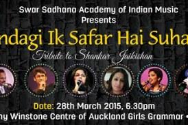 Shankar Jaikishan melodies live in Auckland