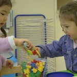 Children at 'Discoveries Browns Bay' in Auckland also learn working together