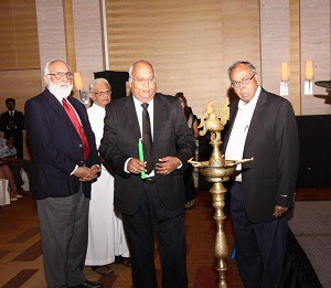Lighting the Lamp of Goodwill: The Prince of Arcot Nawab Mohammed Abdul Ali, Loyola College Rector Rev Father A M Francis Jayapathy, LIBA President Dr Casimir Raj, INZFA Founder Chairman Wenceslaus Anthony