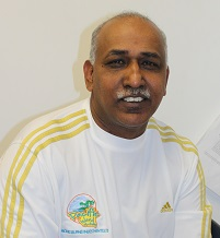 Rewarding Soccer achievers- Surya Sharma