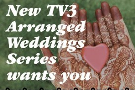 Television show for young brides and grooms