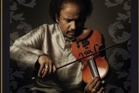 Violin supremo L Subramaniam coming over