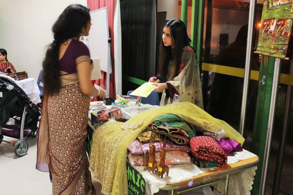 Bengalis usher in New Year- Handicrafts Stall