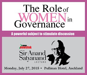 Larger role for women- Lecture Advertisement