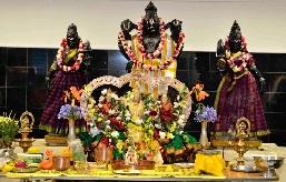 Lord Balaji gets- The Main Deity with Consorts