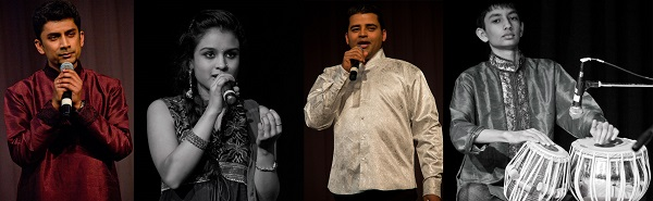 The Twain meet -Ashish, Akhila, Ravi and Akhil