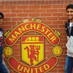 Rising soccer star- Viraf and Arzan Todywalla at the famous grounds