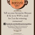 'Best Biryani' contest tickles