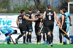 Blacksticks win-The Men's team