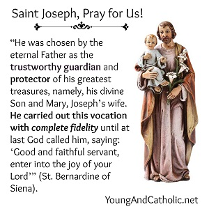 The Prince of Peace- St Joseph, pray for us