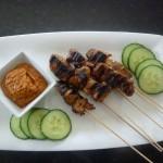 Geet's Kitchen-Satay with Peanut Sauce Web