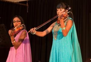 Community musicians assemble- Geerthana and Divya Nanthakumar Web
