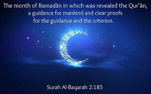 Ramadan strengthens-Ramadan Message Web