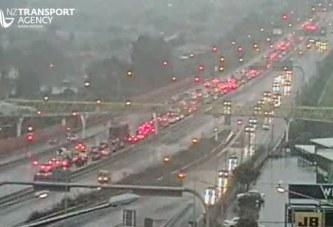 Torrential rains lash across Auckland