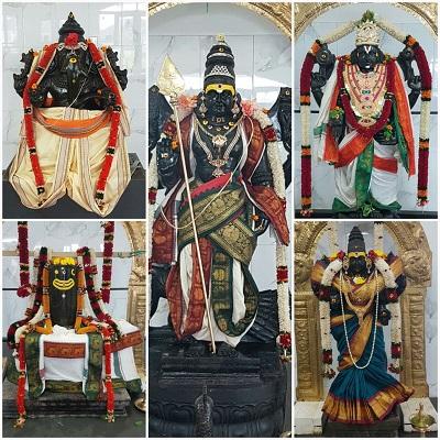 Deities at Thiru Subramaniyar Aalayam