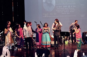 Melodies of 'Queen'-Vidya Teke and her group at 2015 Concert Web