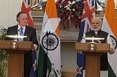 John Key and Modi Press Meet
