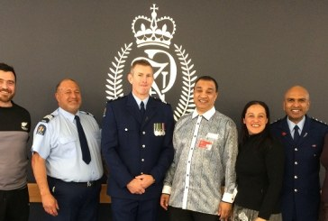 Gregory Fortuin at the Royal Police Academy