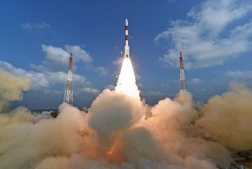 India launches 104 satellites, a world record