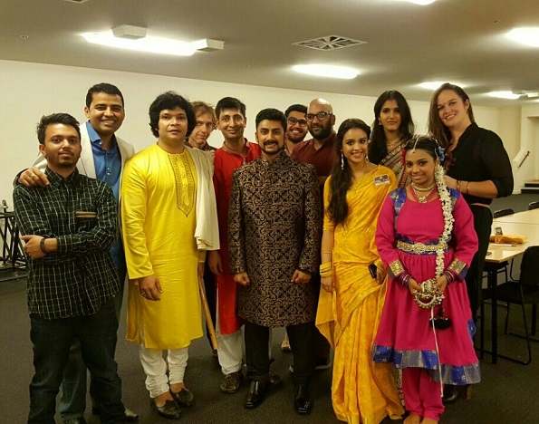 Music and Dance step up-Chaurasia and our artistes- Group Web