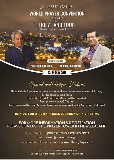 Get to the World Prayer Convention-Poster Web