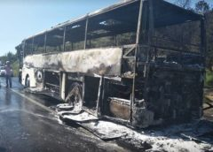New Zealanders flee burning bus near Gallipoli