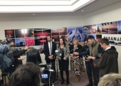 Ardern assures Taranaki locals on oil exploration