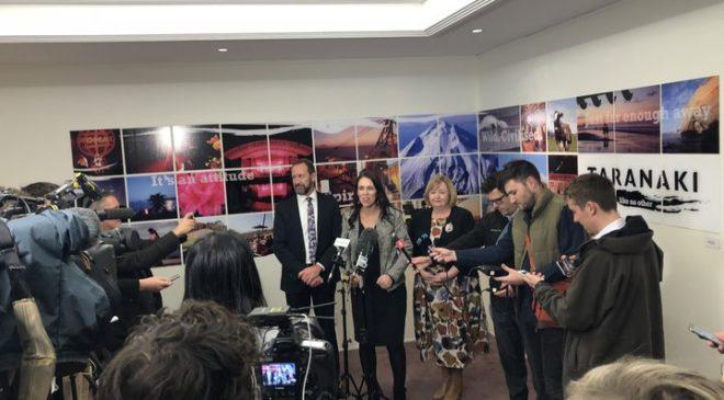 Ardern assures Taranaki locals on oil exploration