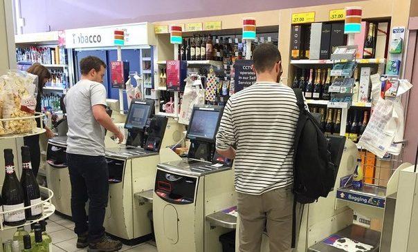 Dishonesty swipes across self-check counters