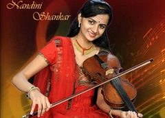 Nandini brings the finest legend of Rajam School of Violin