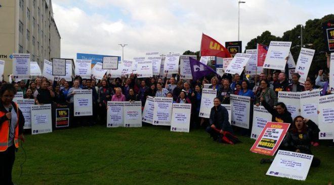 Nurses to announce strike decision today