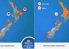 Wild Weather to lash Upper North Island tomorrow