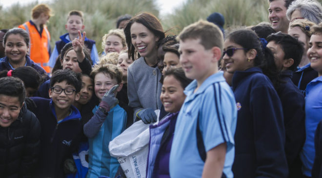 Ardern drops the 'C Bomb' with plastic bag ban