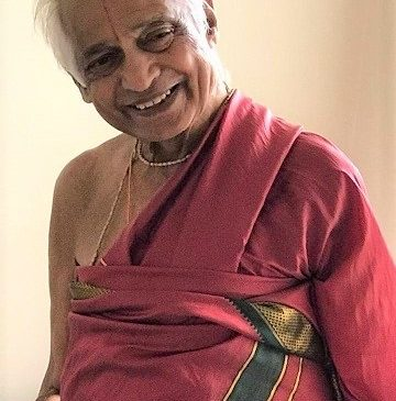 Community elder Sathyanarayana passes away
