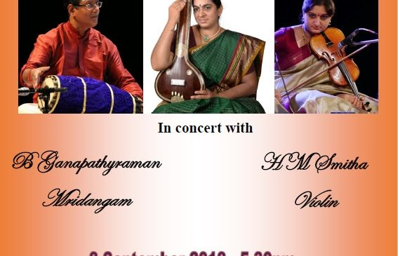Experience the power of Carnatic Music with Sumithra Vasudev