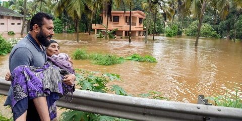 India declines foreign aid offer to Kerala flood victims