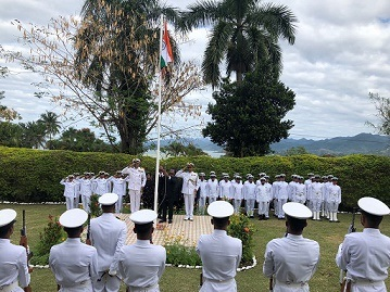 Indian Navy marks Independence Day in Fiji