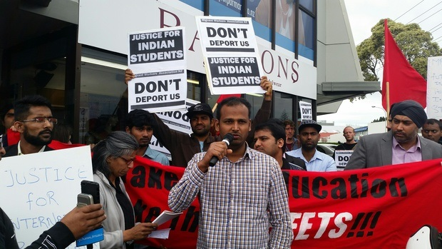Migrant workers to protest over deported students