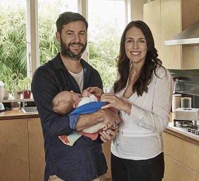 Prime Minister Jacinda Ardern engaged to Partner Clarke Gayford