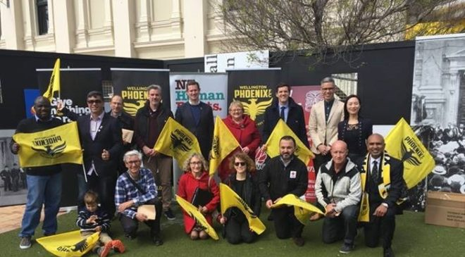 Wellington Phoenix games foster diversity