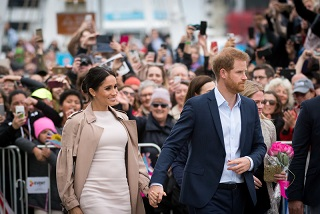 Young Royal Couple steal thousands of hearts in Auckland