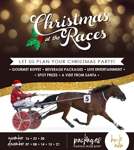 Christmas At The Races growing in popularity