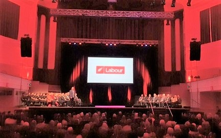 Digs, caution and confidence at Labour Party Conference
