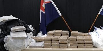 Police seize record 190 kgs of cocaine
