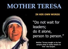 Tribute to Saint Mother Teresa at Ninth Annual Meet