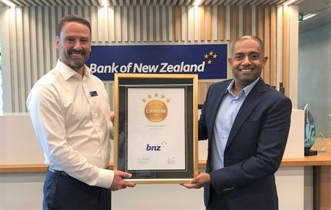 BNZ earns the first Bank of the Year Credit Cards Award