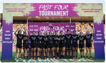 Black Ferns win in the Women's Seven Final