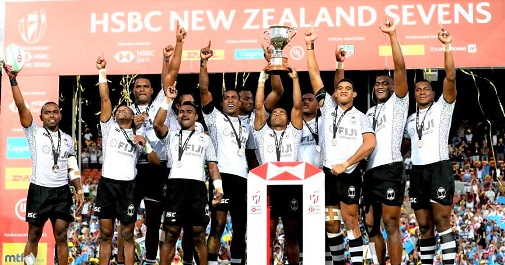 New Zealand, Fiji shine as England crash out of sevens